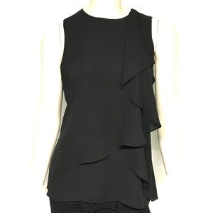 Kenneth Cole black sleeveless top